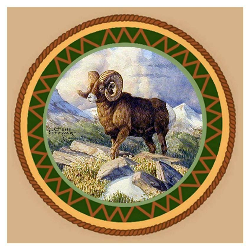 Big Horn Coaster Tile