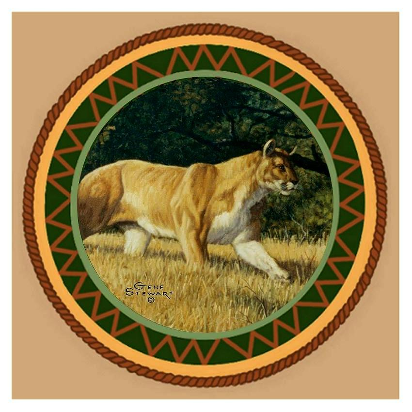 Cougar Coaster Tile