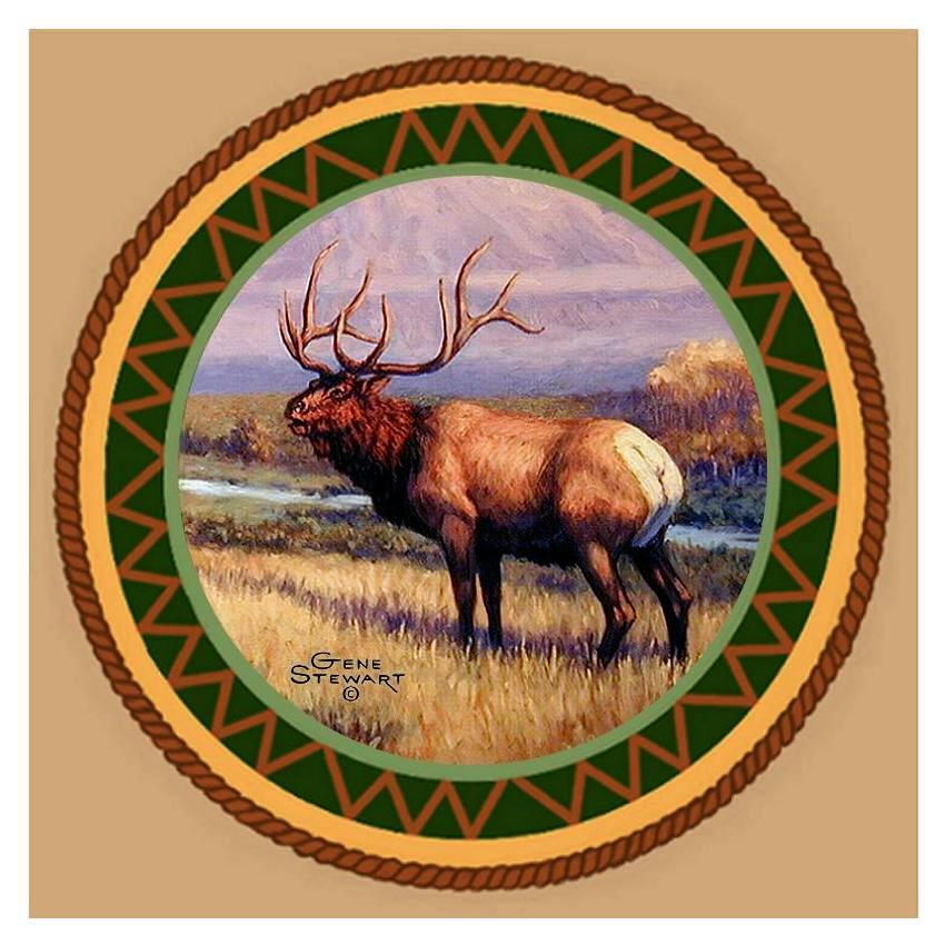 Elk Coaster Tile