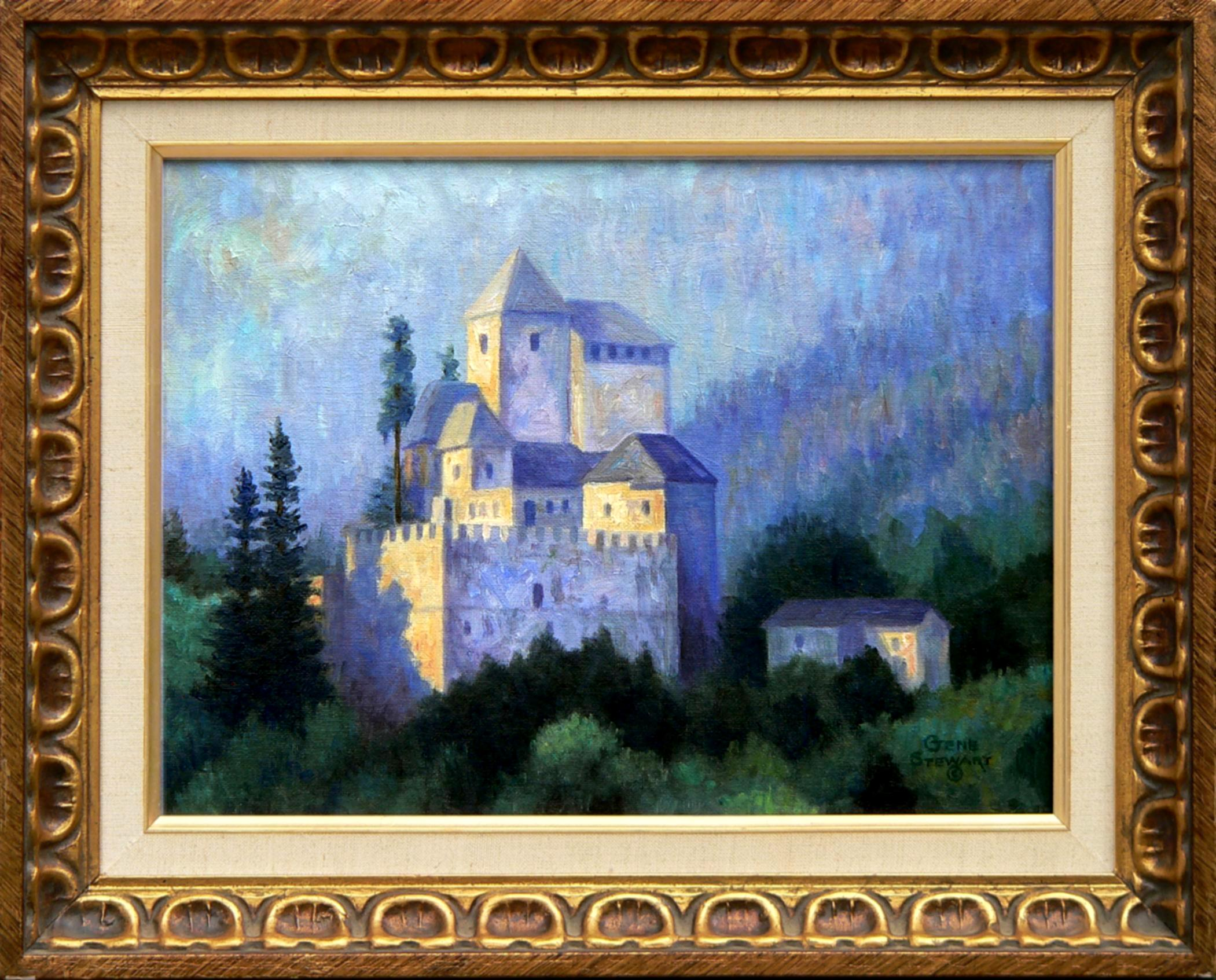 """French Castle"" oil painting"