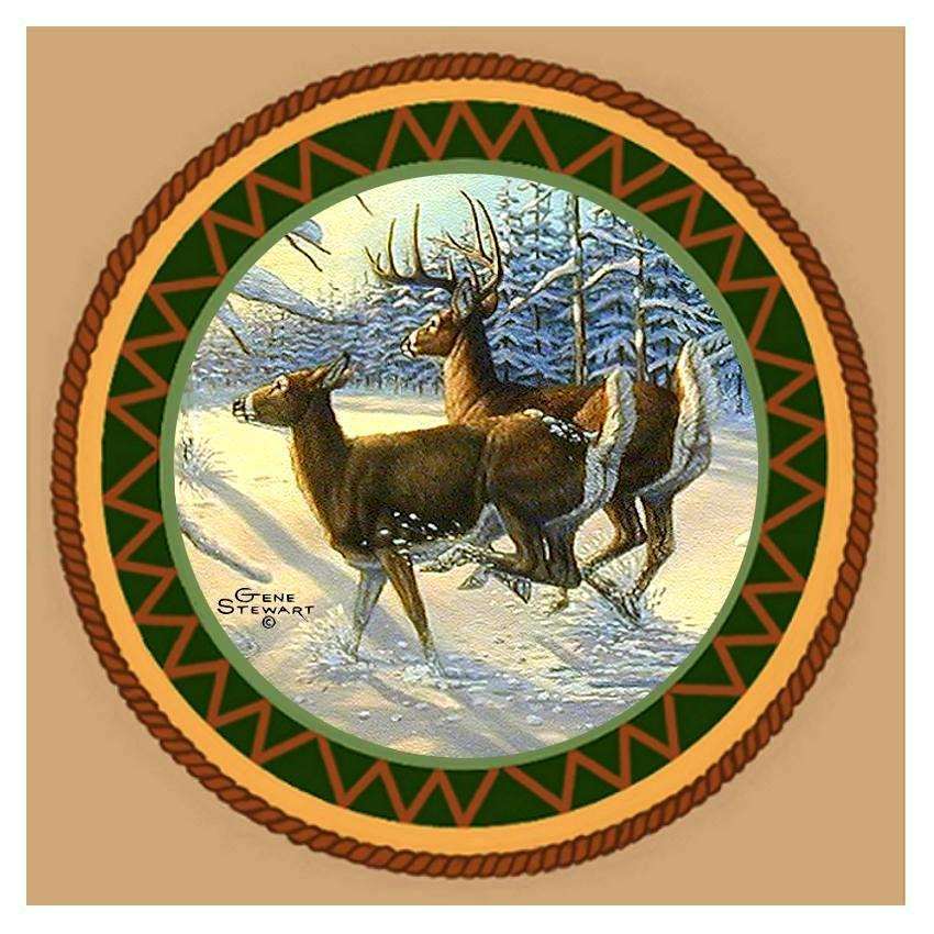Whitetail Coaster Tile