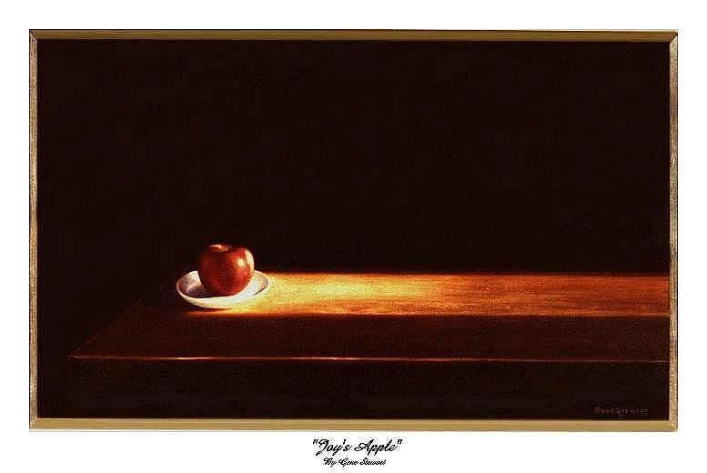 """Joy's Apple"", print"
