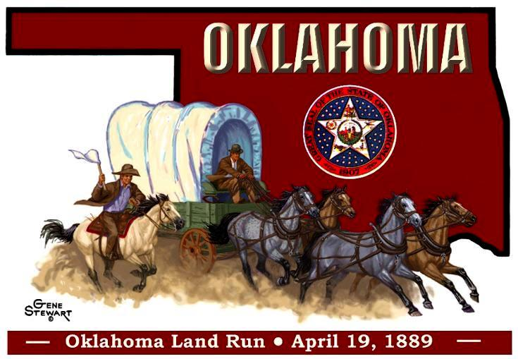 Oklahoma T Shirt design