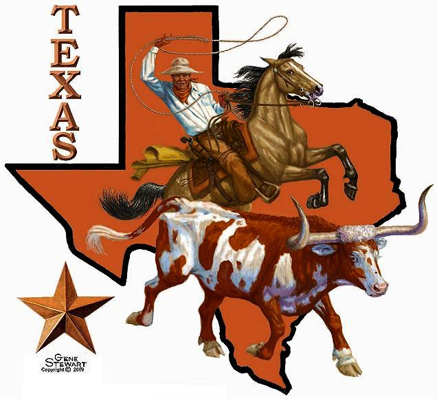 Texas T Shirt design